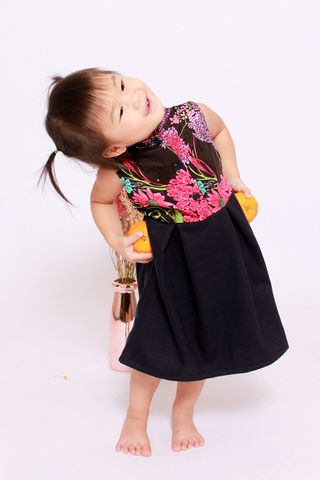 Playdate | Edna Orient in Floral (Little Girl)