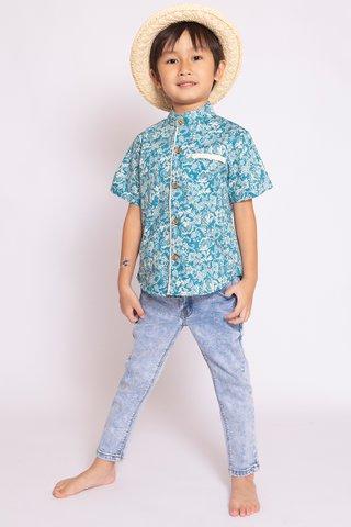 Fang Shirt in Sweet Peach (Boys)
