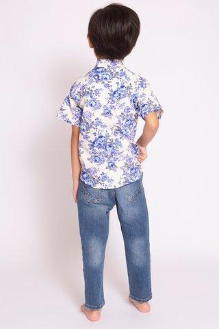 Xing Shirt in Lan Hua (Boys)