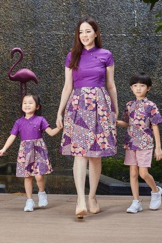 Diona Dress in Purple (Girls)